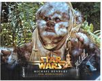 STAR WARS Ewok actor Michael Henbury Genuine signed autograph COA 11456